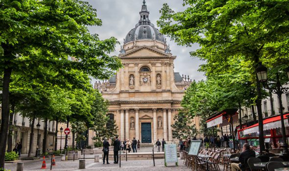 La Sorbona di Parigi, una delle più antiche Università del mondo