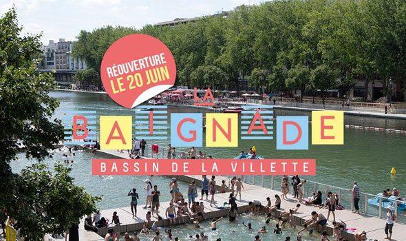 La piscina gratuita del Bassin de la Villette
