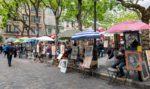 """Place du Tertre, la """"piazza degli artisti"""" di Parigi"""