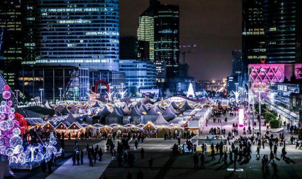 Villagio di Natale di Parigi – La Défense 2018