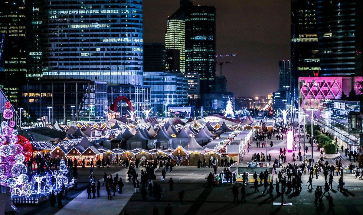Villagio di Natale di Parigi - La Défense 2018