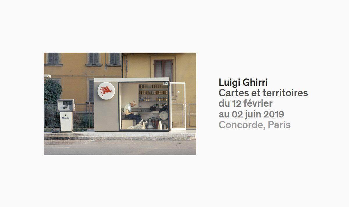 Luigi Ghirri: Cartes et territoires