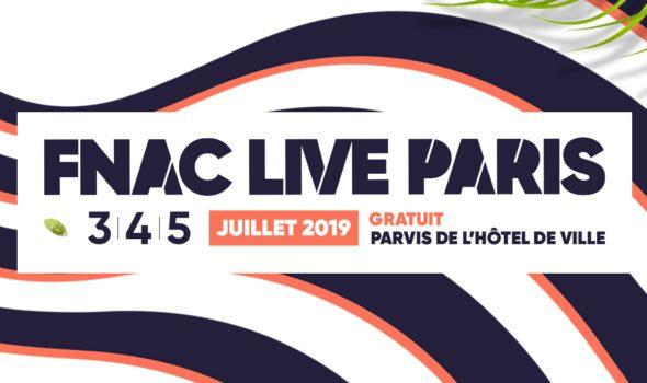 Festival Fnac Live Paris 2019