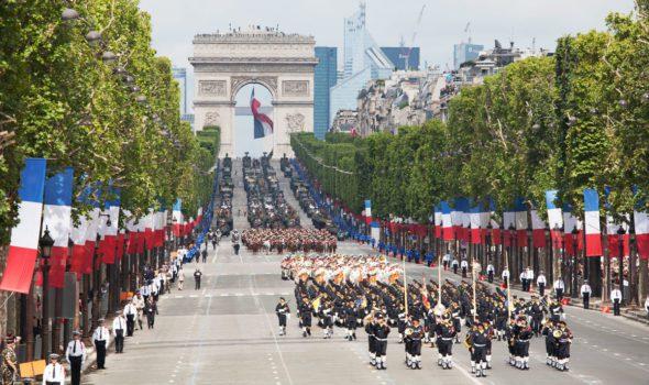 La Parata Militare del 14 luglio a Parigi: informazioni, luoghi ed orari