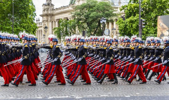 Parata militare del 14 luglio 2019