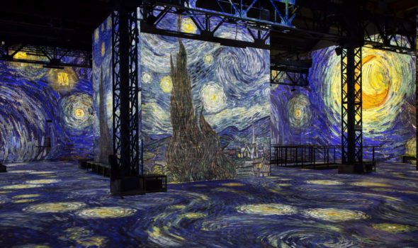 "Van Gogh, una mostra immersiva nella ""Notte Stellata"""