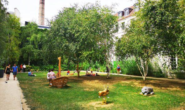 Jardin Rosiers