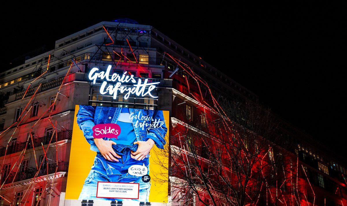Natale a Parigi 2019: la pista di pattinaggio sul tetto delle Gallerie Lafayette
