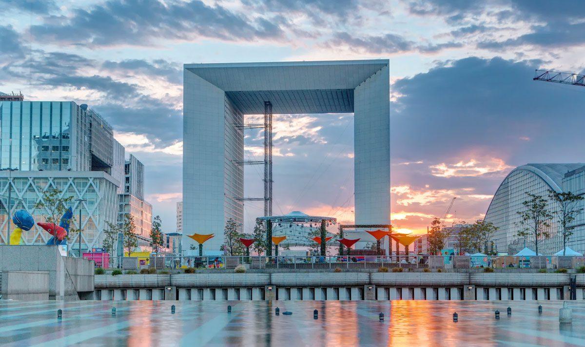 Natale a Parigi 2019: la pista di Pattinaggio sull'Arco de La Défense