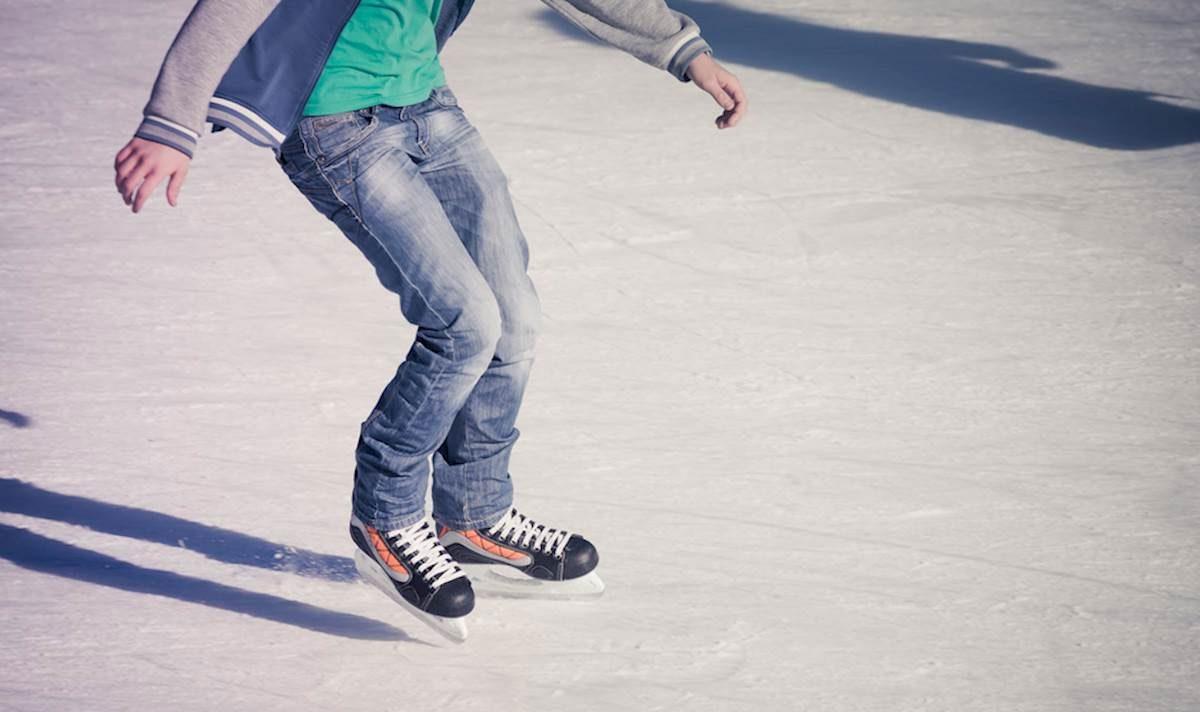 Pista di pattinaggio sul ghiaccio del Trocadéro