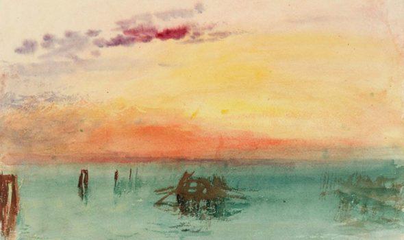 """""""Turner, peintures et aquarelles de la Tate"""": il pittore inglese in mostra a Parigi"""