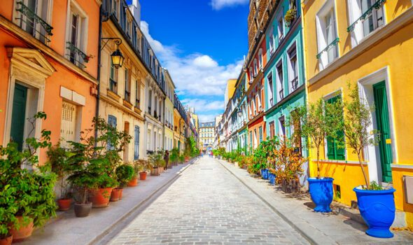Rue Crémieux: la via più colorata di Parigi